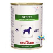 Alimento úmido Royal Canin Satiety Support Wet para Cães Obesos (410g)