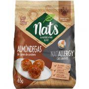 Almôndegas de Carne de Carneiro Natallergy - Snack Super Premium Natural para Cães Sensíveis- Nats (65 g)