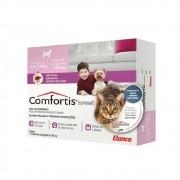 Antipulgas Comfortis 140 mg para Cães de 2,3 a 4,5 Kg e Gatos de 1,4 a 2,8 Kg - Elanco