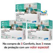 Antipulgas Comfortis 560 mg para Cães de 9 a 18 Kg e Gatos de 5,5 a 11 Kg - Elanco (COMBO)