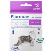 Antipulgas e Carrapatos Fiproban Gatos - Vallee (1 pipeta de 0,50ml)