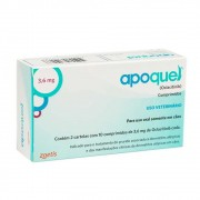 Apoquel 3,6 mg (Oclacitinib) Dermatológico para Cães - Zoetis (20 comprimidos)