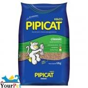 Areia Sanitária Pipicat Classic para Gatos - Kelco (12kg)