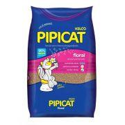 Areia Sanitária Pipicat Floral para Gatos (12 kg) - Kelco