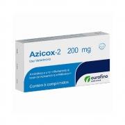 Azicox 2 200 mg - Antibiótico e Anti-inflamatório à base de Azitromicina e Meloxicam - OuroFino
