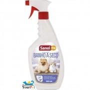 Banho a Seco Sanol Dog para Cães Adultos e Filhotes - Total Química (500 ml)