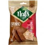 Bifinho Natural Super Premium NatLife Mais resistência e Saúde para Cães - Nats (60g)