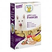 Biscoito Natural Super Premium - Frutas Frescas Banana e Maçã - NutriCão (80g)