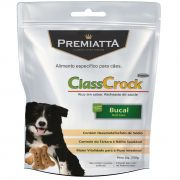 Biscoito Premiatta ClassCrock Bucal Oral Care para Cães Adultos e Filhotes de todas as raças - Gran Premiatta (250g)