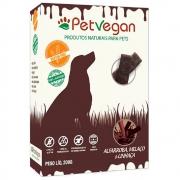 Biscoitos Pet Vegan Alfarroba, Melaço e Linhaça Gluten Free - Petisco Saudável Vegano para Cães (200g)