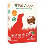 Biscoitos Pet Vegan Cranberry Gluten Free - Petisco Saudável Vegano para Cães (200g)