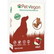 Biscoitos Pet Vegan Maçã - Petisco Saudável Vegano para Cães (200g)