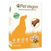 Biscoitos Pet Vegan Maracujá e Camomila - Petisco Saudável Vegano para Cães (200g)