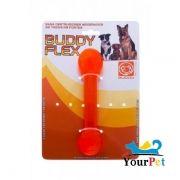 Brinquedo Flex para Cães - Halteres Flex - Buddy Toys (Laranja)