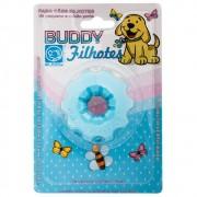 Brinquedo Flex Resistente para Cães Filhotes Mini Bolt Azul - Buddy Toys