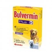 Bulvermin Plus Vermífugo para Cães - Coveli (4 comprimidos)