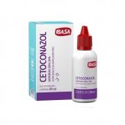 Cetoconazol Suspensão Oral 20% Antifúngico para Cães e Gatos - Ibasa (20 ml)