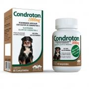Condroton 1000mg - Regenerador articular com Sulfato de Condroitina A para Cães (60 comprimidos) Vetnil