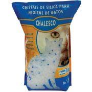 Cristais de Sílica Sanitária para Gatos (1,8kg) - Chalesco