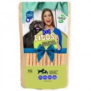 Dog Litos - Palitos Veganos Assados de Grão de Bico e Tapioca para Cães Adultos e Filhotes (90g)