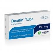 Doxifin Tabs 100 mg - Antimicrobiano Palatável à base de Doxiciclina - OuroFino (14 comprimidos)