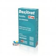 Doxitrat 80 mg - Antibateriano à base de Doxiciclina para Cães e Gatos - Agener (12 comprimidos palatáveis)