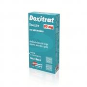 Doxitrat 80 mg - Antibiótico à base de Doxiciclina para Cães e Gatos - Agener (12 comprimidos palatáveis)