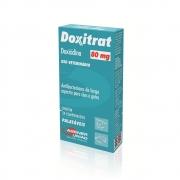 Doxitrat 80 mg - Antibiótico à base de Doxiciclina para Cães e Gatos - Agener (24 comprimidos palatáveis)