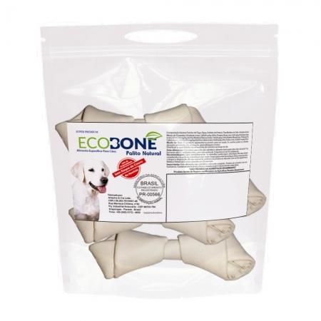 Ecobone - Osso Nó Natural Vegano 3/4 para Cães (250 g)