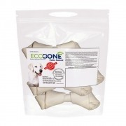 Ecobone - Osso Nó Natural Vegano 4/5 para Cães (250 g)