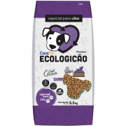Ecologicão - Granulado Higiênico de Madeira com atrativo para Cães (2,5kg) - Care Pet