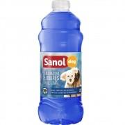 Eliminador de Odores Tradicional Sanol Dog- Para Limpeza de quintais, canis e clínicas veterinárias - Total Química (