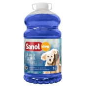 Eliminador de Odores Tradicional Sanol Dog- Para Limpeza de quintais, canis e clínicas veterinárias - Total Química (5l)