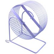 Exercitador de arame Gira-gira Rodinha para Hamster sírio e Gerbil - GR 007 (20 cm de diâmetro) - Bragança (Lilás)