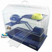 Gaiola Bragança Capela para Hamster - GR304 (Azul)