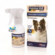 Garma IGR Spray Antipulgas e Carrapatos para Cães - Agener (100 ml)