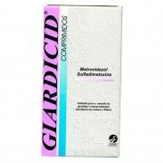 Giardicid 500mg - Metronidazol e Sulfadimetoxina controle de giardíase e outras infecções intestinais - Cepav