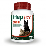 HepVet - Suplemento Vitamínico Mineral Aminoácido para Cães e Gatos - Vetnil (30 comprimidos)
