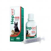 HepVet Suspensão Suplemento Vitamínico Mineral Aminoácido para Cães e Gatos - (60ml) Vetnil