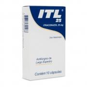 ITL 25 Cepav - Antifúngico de Largo Espectro à base de Itraconazol 25 mg (10 cápsulas)