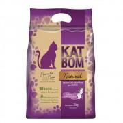 Kat Bom Natural Granulado Sanitário para Gatos - FVO (3kg)