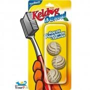 Keldog Dental Bolinha - Petisco que auxilia na Higiene bucal do seu cão - Keldog (3 unidades)