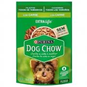Kit com 15 - Alimento úmido Dog Chow Sachê Sabor Carne Filhotes todos os tamanhos  extra life - Nestlé Purina (100g)