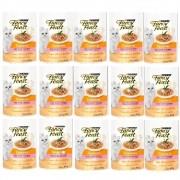 Kit com 15 - Alimento úmido Fancy Feast Casserole com Frango e Peru - Nestlé Purina (85g)