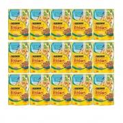 Kit com 15 - Alimento úmido Friskies Sachê Atum ao Molho para Gatos Adultos - Nestlé Purina (85g cada)