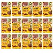 Kit com 15 - Alimento úmido Friskies Sachê Carne ao Molho para Gatos Adultos - Nestlé Purina (85g cada)