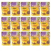 Kit com 15 - Alimento úmido Friskies Sachê Cordeiro ao Molho para Gatos Adultos - Nestlé Purina (85g cada)
