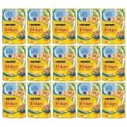 Kit com 15 - Alimento úmido Friskies Sachê Peixe Branco ao Molho para Gatos Adultos - Nestlé Purina (85g)