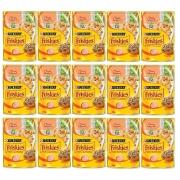 Kit com 15 - Alimento úmido Friskies Sachê Peru ao Molho para Gatos Adultos - Nestlé Purina (85g cada)