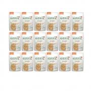 Kit com 18 - Alimento úmido Guabi Natural Grain Free Sachê Cães Frango, Salmão e Vegetais - Affinity Guabi (100g)